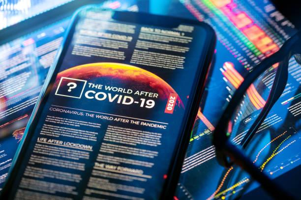 The World After COVID-19 Article:スマホ壁紙(壁紙.com)