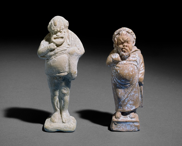 Classical Greek「Terracotta Figurines Of A Comic Male Actors」:写真・画像(2)[壁紙.com]