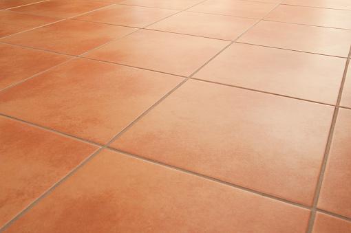 Terracotta「Terracotta floor tiles clean background diminishing perspective」:スマホ壁紙(10)
