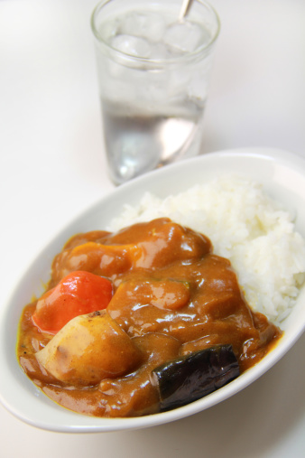 Vegetable Curry「Curry and rice」:スマホ壁紙(17)