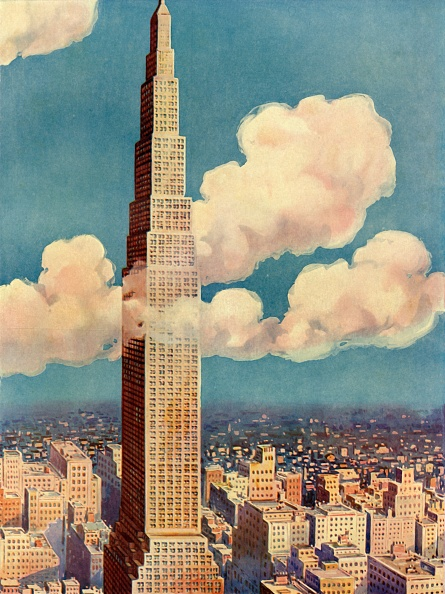 Illustration「The King Of Skyscrapers - Larkin Tower」:写真・画像(17)[壁紙.com]