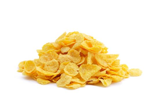 Breakfast Cereal「Pile of Cornflakes」:スマホ壁紙(9)