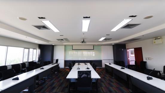 Consumerism「Modern conference room interior」:スマホ壁紙(2)