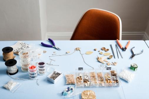 Sewing Item「stilllife of jewellery-making.」:スマホ壁紙(8)