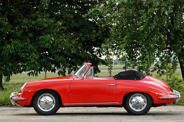 Side View「1960 Porsche 356B 1600 Cabriolet」:写真・画像(8)[壁紙.com]