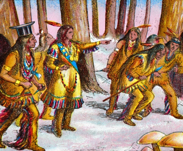 Transfer Print「The Indians」:写真・画像(2)[壁紙.com]