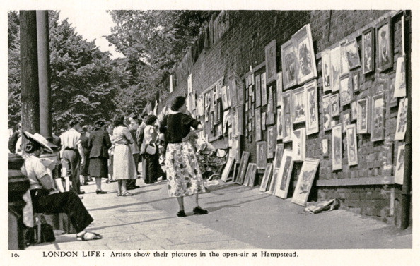 Golf Tournament「Pictures shown in the open-air at Hampstead」:写真・画像(3)[壁紙.com]