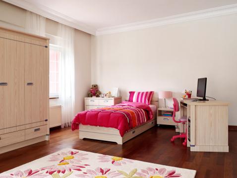 Pink Color「お子様用ベッドルーム」:スマホ壁紙(15)