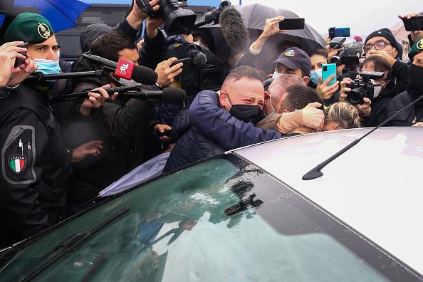 Fisherman「Italian Fishermen Freed From Libya Arrive In Sicily」:写真・画像(19)[壁紙.com]