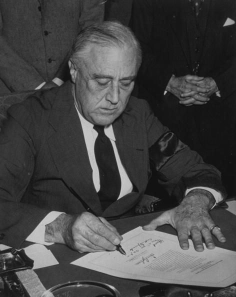 Franklin Roosevelt「Declaration Of War」:写真・画像(18)[壁紙.com]