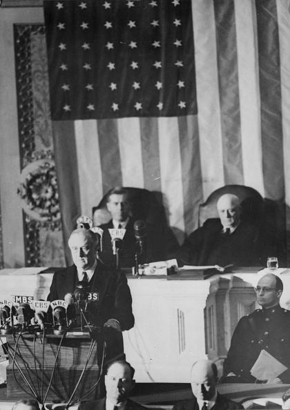 Franklin Roosevelt「Roosevelt Address」:写真・画像(12)[壁紙.com]