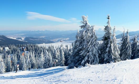 雪山「ユキコ Carpathian 山々の眺め」:スマホ壁紙(13)
