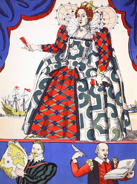 Anne Francis「Elizabeth I Queen Of England From 1558 (1932)」:写真・画像(11)[壁紙.com]