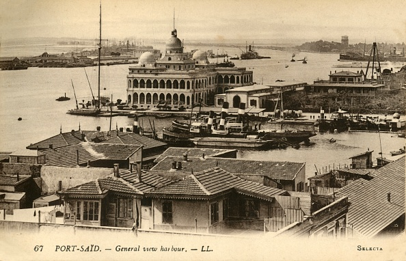 Moored「Port-Said - General View Harbour - Ll」:写真・画像(9)[壁紙.com]