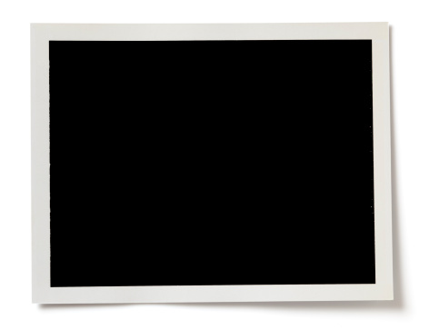 Shadow「Blank black photo with a white border on white background」:スマホ壁紙(11)