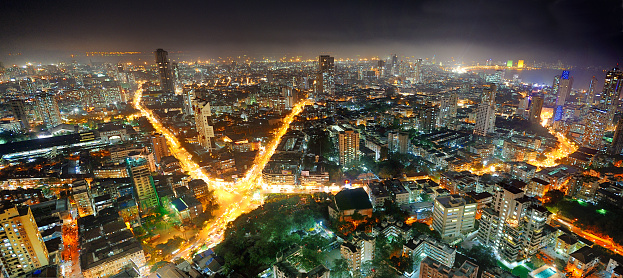 Light Trail「The city of Mumbai」:スマホ壁紙(19)