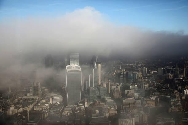 Fog Shrouds Central London:ニュース(壁紙.com)