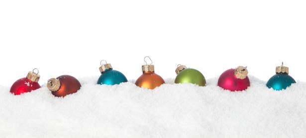 雪の結晶「雪のクリスマスアイテム」:スマホ壁紙(4)