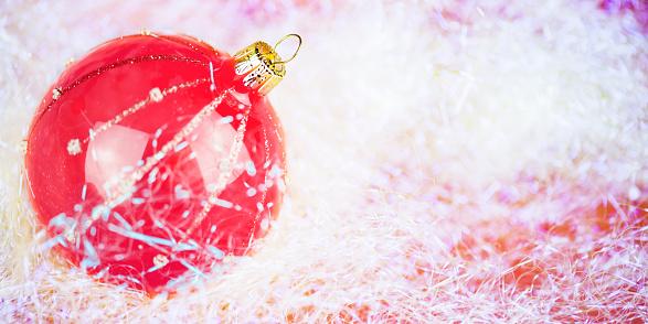 月「クリスマスのビーズ」:スマホ壁紙(18)