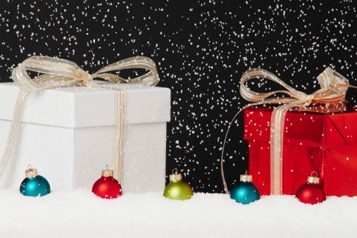 雪「クリスマスの背景」:スマホ壁紙(0)