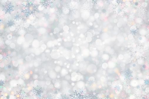 雪「クリスマスの背景」:スマホ壁紙(11)