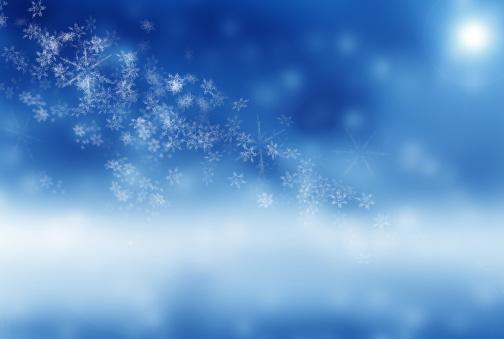 雪の結晶「クリスマスの背景」:スマホ壁紙(8)