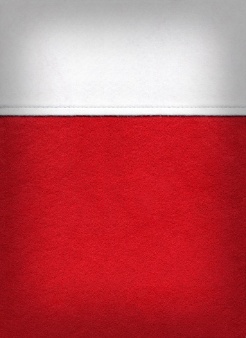 Art And Craft「Christmas background with close-up of red and white stocking」:スマホ壁紙(0)
