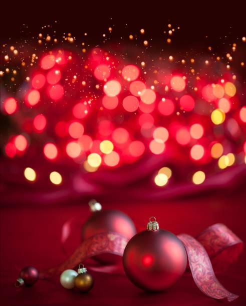 Christmas Baubles Background:スマホ壁紙(壁紙.com)