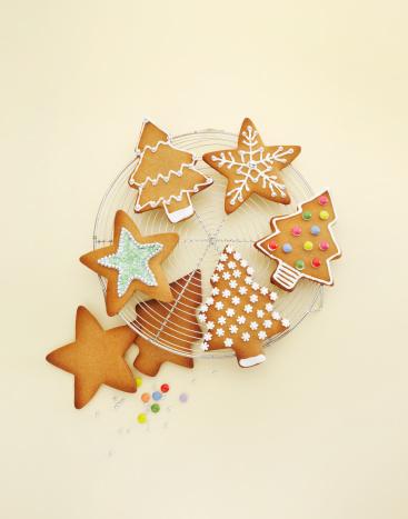 Gingerbread Cookie「Christmas baking」:スマホ壁紙(18)