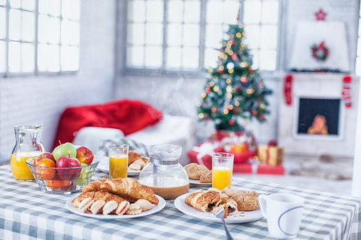 Christmas「Christmas breakfast」:スマホ壁紙(6)