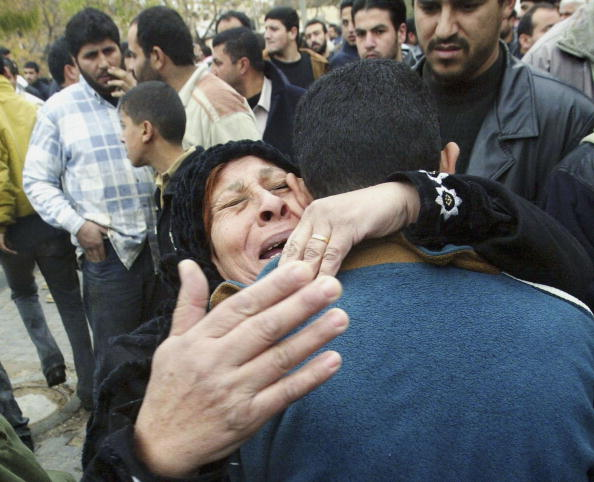 Focus On Foreground「Palestinians Killed In Fierce Fighting In Gaza City  」:写真・画像(18)[壁紙.com]