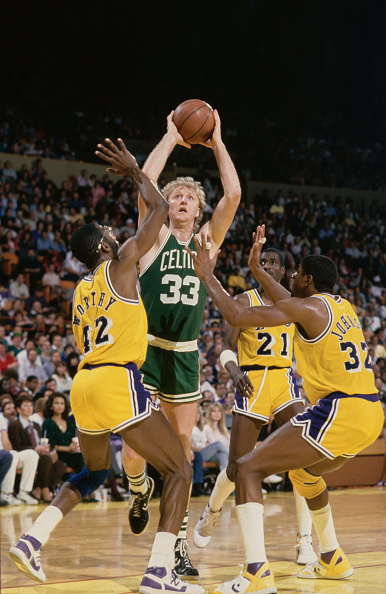 Magic Johnson「Boston Celtics vs Los Angeles Lakers」:写真・画像(10)[壁紙.com]