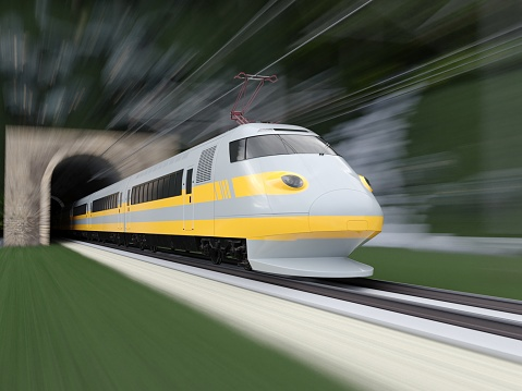 Passenger Train「High Speed Train」:スマホ壁紙(15)