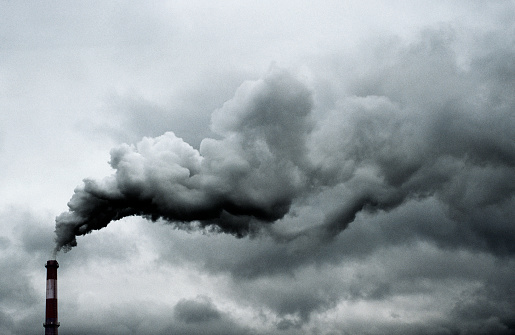 Smoke - Physical Structure「Smoke Billowing from Smokestack」:スマホ壁紙(7)