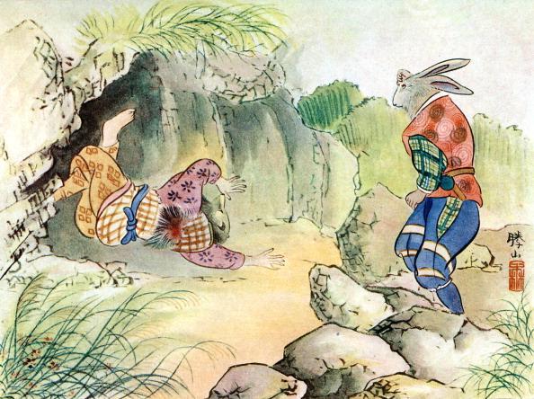 Fairy Tale「Kachi-kachi Yama, or The Crackling Mountain,」:写真・画像(15)[壁紙.com]