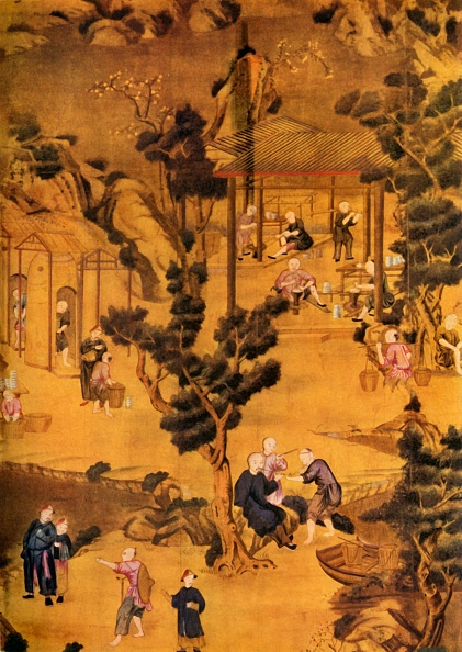 Model Home「Chinese Wallpaper In Coutts Bank 1」:写真・画像(7)[壁紙.com]