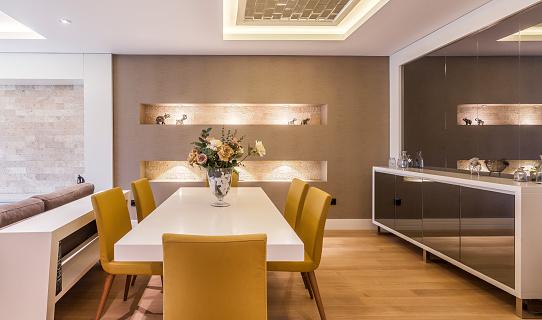 Dining Table「Modern dining room」:スマホ壁紙(10)
