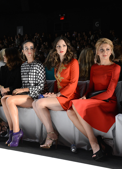 Camilla Belle「Michael Kors - Front Row - Spring 2013 Mercedes-Benz Fashion Week」:写真・画像(12)[壁紙.com]