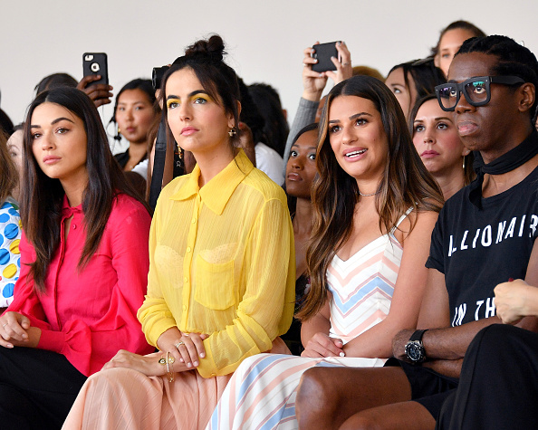 Camilla Belle「Noon By Noor - Front Row - September 2018 - New York Fashion Week: The Shows」:写真・画像(1)[壁紙.com]
