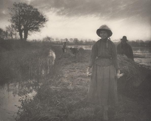 Norfolk Broads「Poling The Marsh Hay」:写真・画像(16)[壁紙.com]
