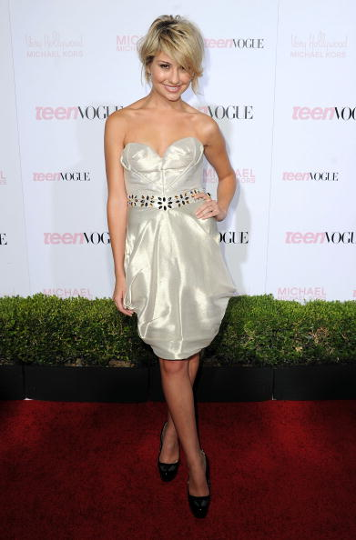 Bustier Dress「8th Annual Teen Vogue Young Hollywood Party - Arrivals」:写真・画像(4)[壁紙.com]
