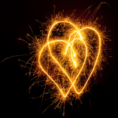 Two Objects「Sparkling Hearts」:スマホ壁紙(16)
