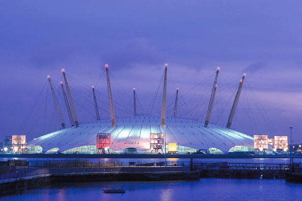 General View「Millennium Dome. London. United Kingdom. Designed by Richard Rogers Partnership.」:写真・画像(18)[壁紙.com]