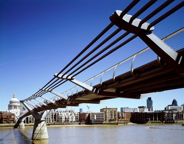 Copy Space「Millennium Bridge, c1998-2010」:写真・画像(6)[壁紙.com]