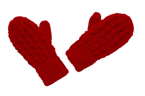 手袋「Red Mittens」:スマホ壁紙(13)