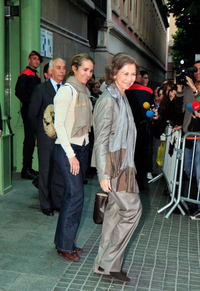 Princess Elena of Spain「Spanish Royals Visit King Juan Carlos At The Hospital」:写真・画像(19)[壁紙.com]