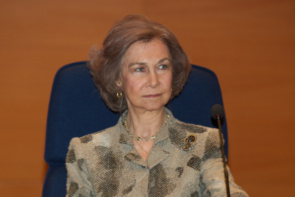 Queen Sofia of Spain「Queen Sofia of Spain Attends Opening of the Training Course on 'Cyber Crime Investigation Against Children' in Madrid」:写真・画像(8)[壁紙.com]