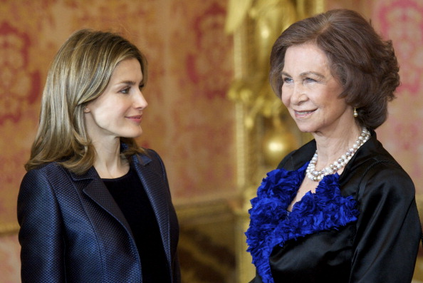 Queen Sofia of Spain「Spanish Royals Celebrate New Year's Military Parade 2012」:写真・画像(5)[壁紙.com]