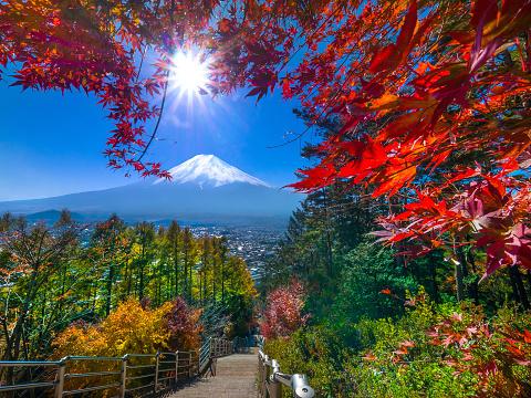 Mt Fuji「Mt. Fuji in autumn」:スマホ壁紙(4)