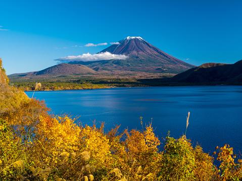 Mt Fuji「Mt. Fuji in autumn」:スマホ壁紙(12)